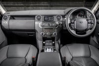Land Rover Discovery 2009 front interior