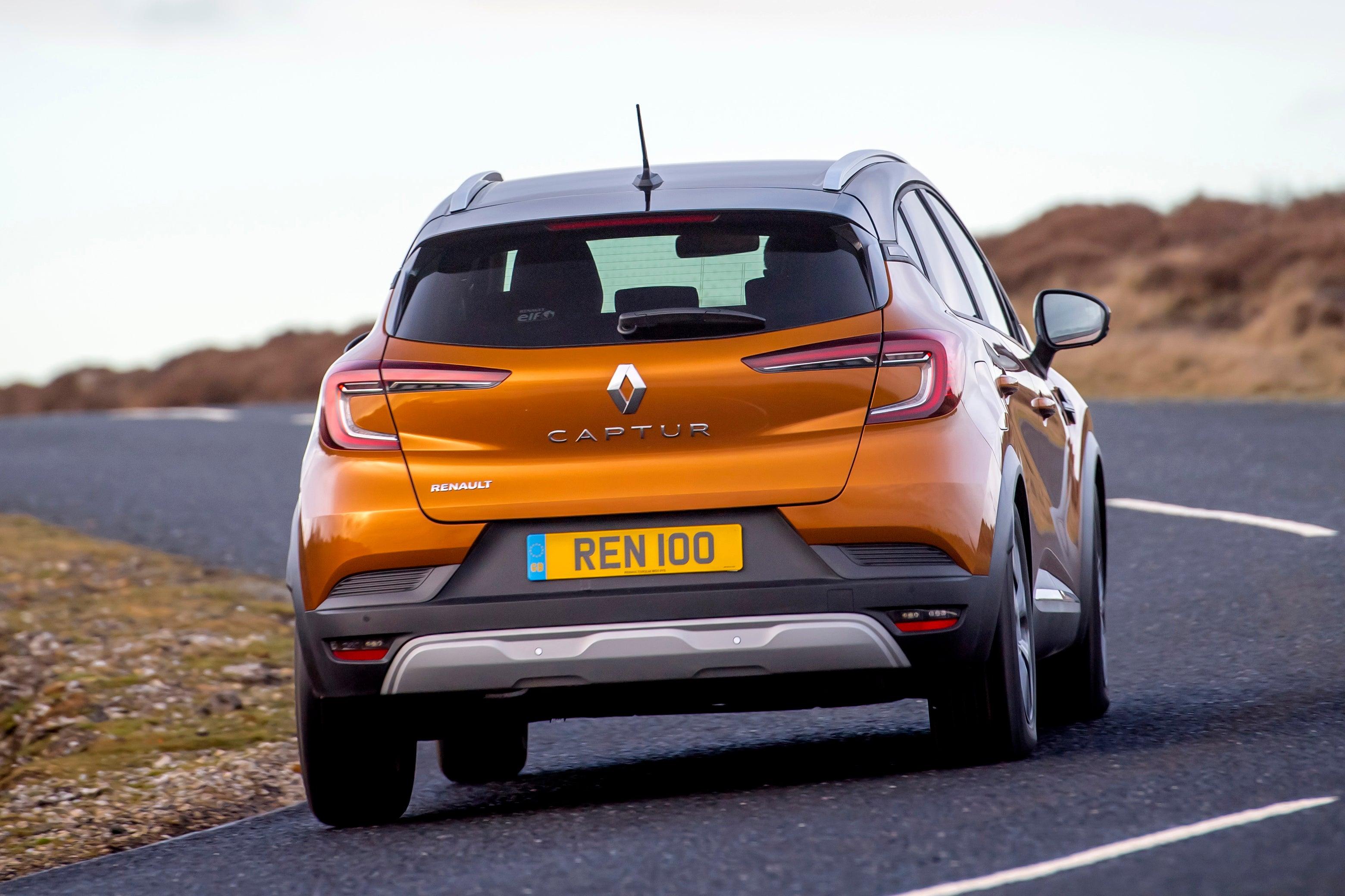 Renault Captur Review 2021: Rear View