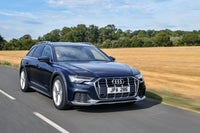 Audi A6 Allroad Driving Front