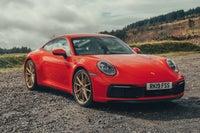 Porsche 911 Front View