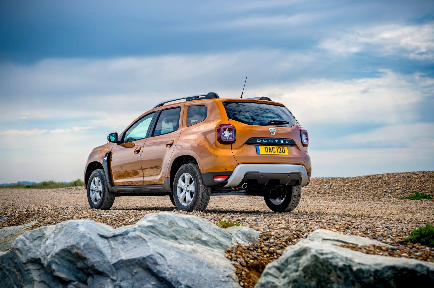 Dacia Duster Back