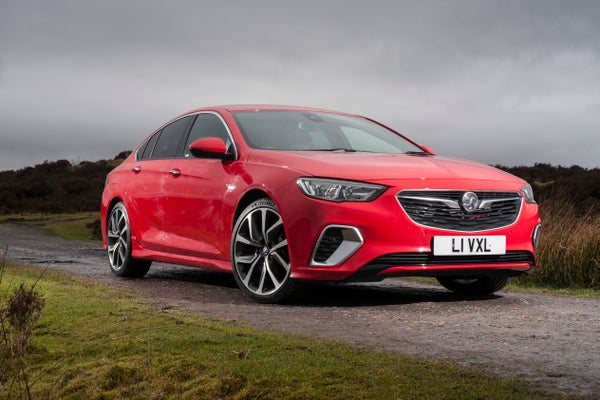 Vauxhall Insignia Grand Sport Front Side View