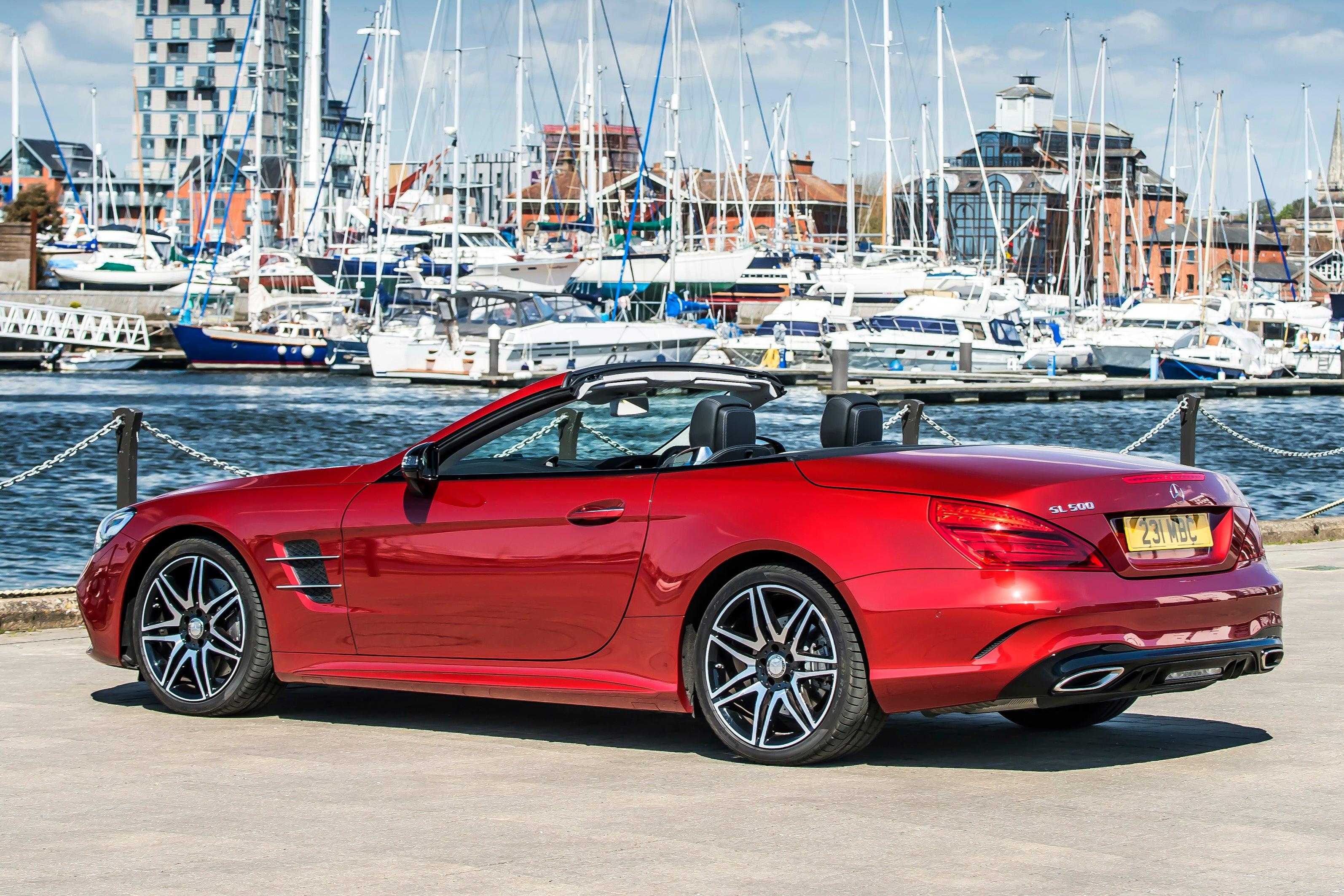 Mercedes SL (2012) backleft exterior