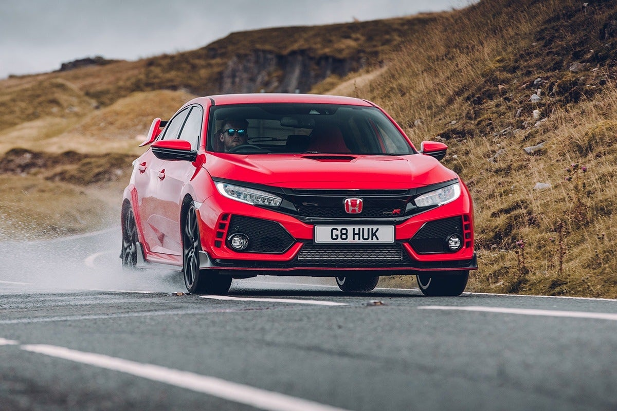 Honda Civic Type R 2017 frontright exterior