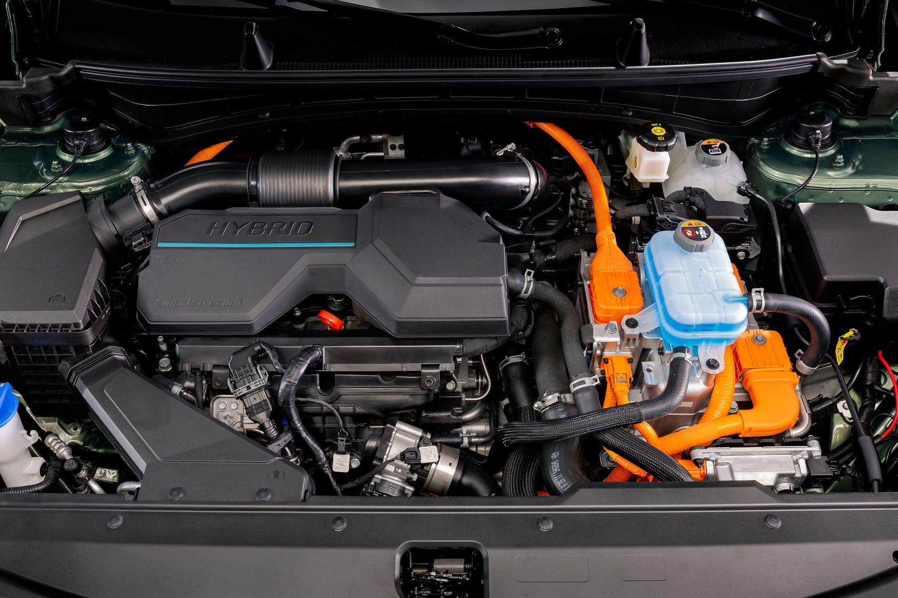 2022 Kia Sportage engine