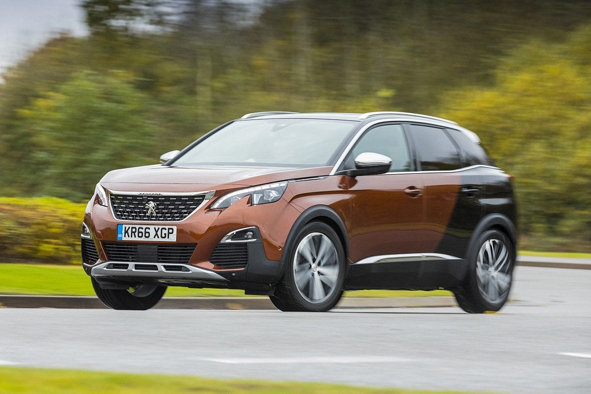 Peugeot 3008 Front View