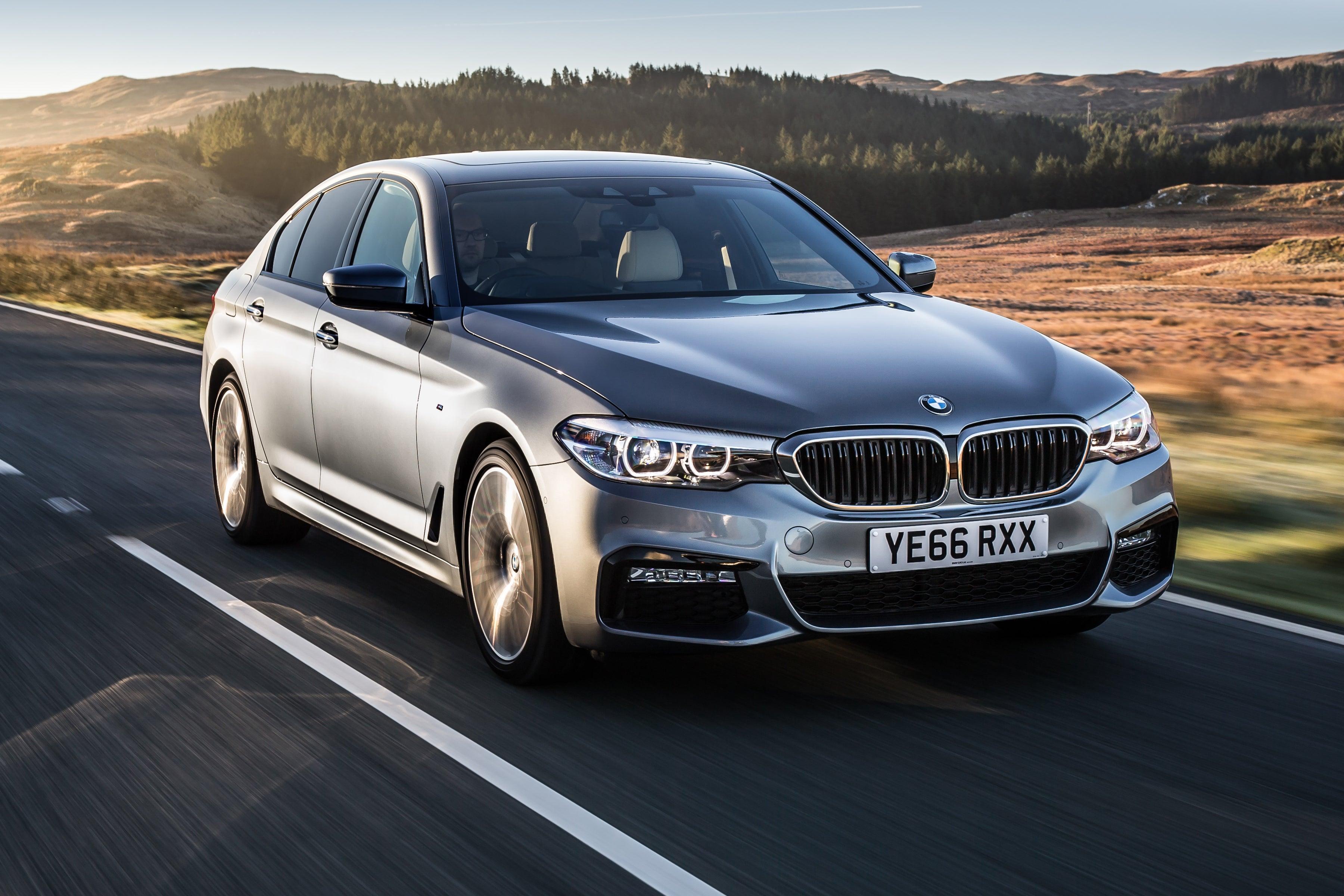 BMW 5 Series Exterior Front