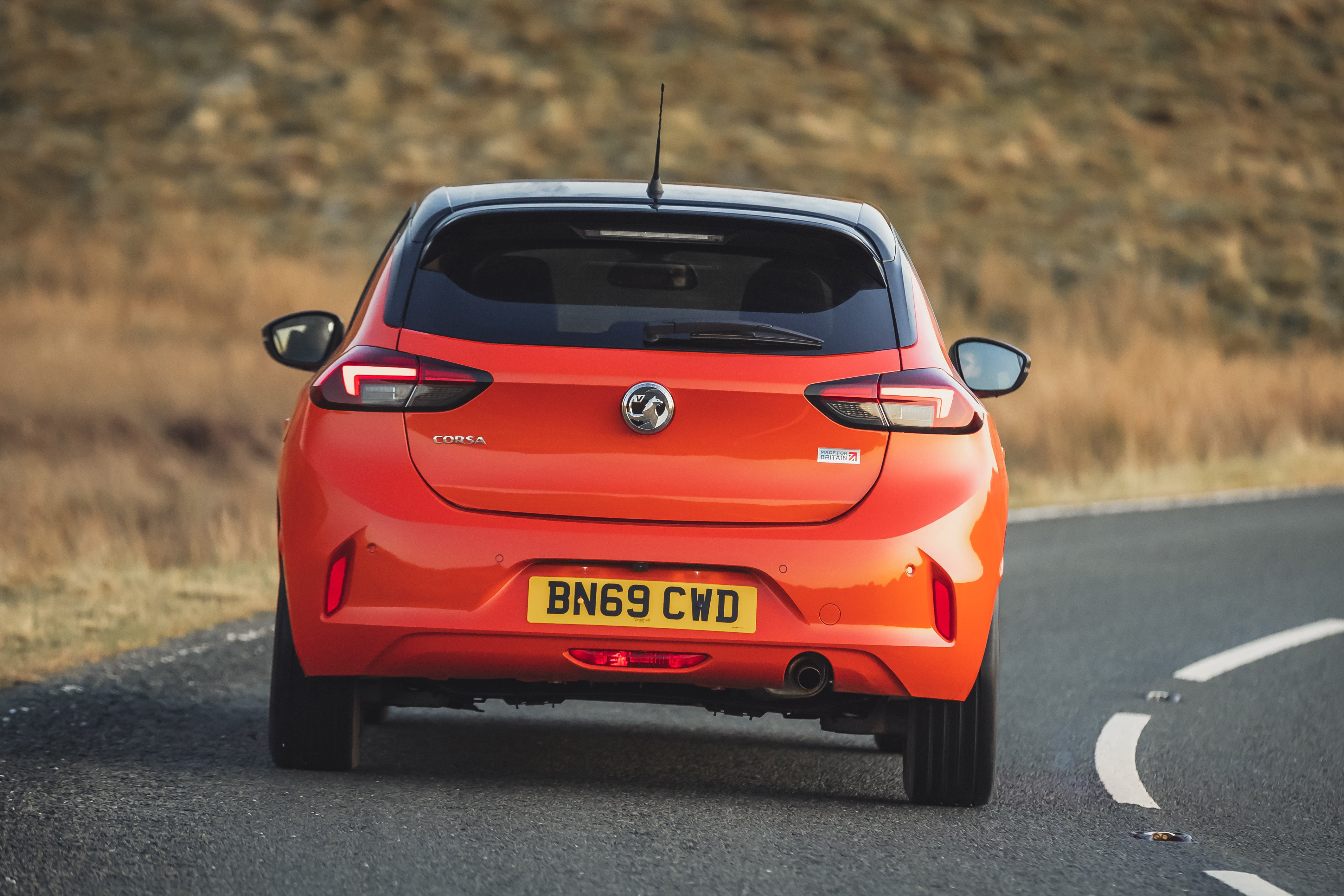 Vauxhall Corsa Rear View