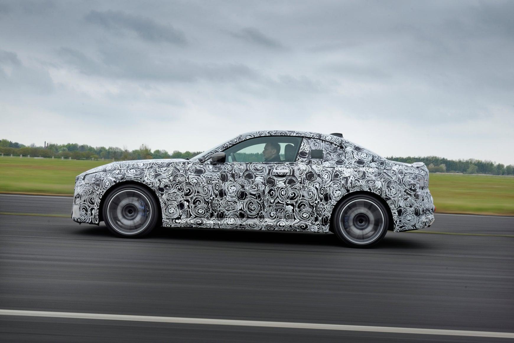 2022 BMW 2 Series dynamic profile