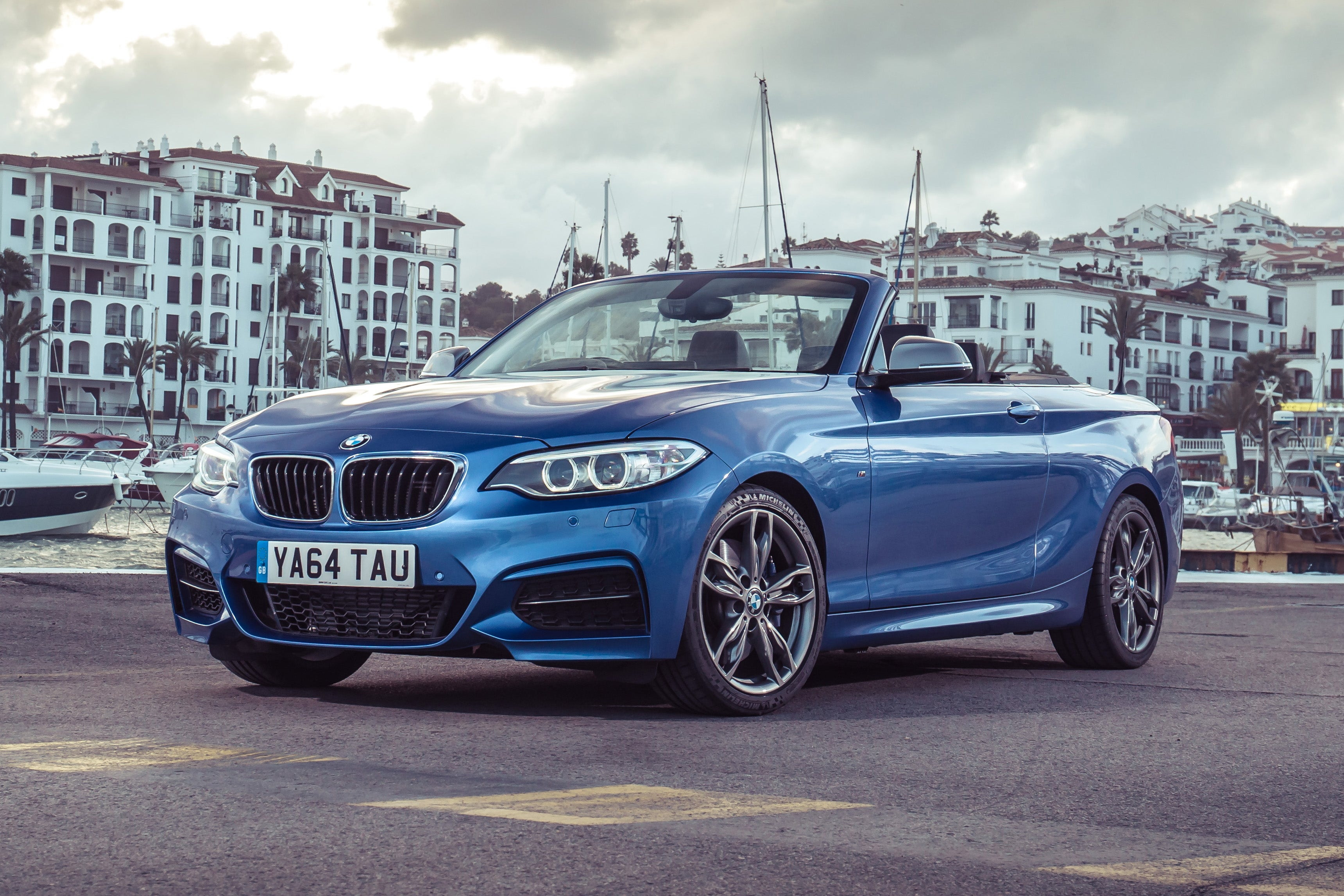 BMW 2 Series Convertible Exterior Front