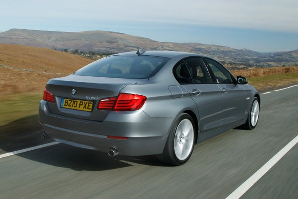 BMW 5 Series Driving Back