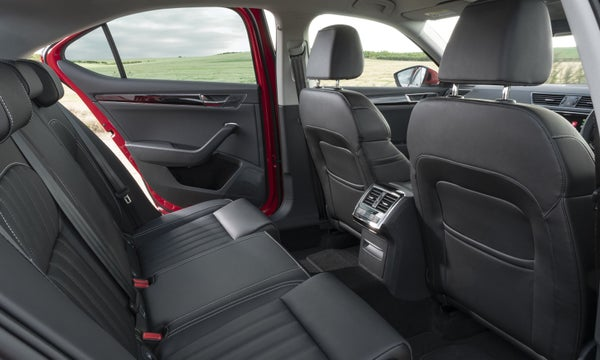 Skoda Superb Back Car Seats