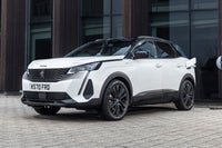 Peugeot 3008 Review 2021: white exterior photo