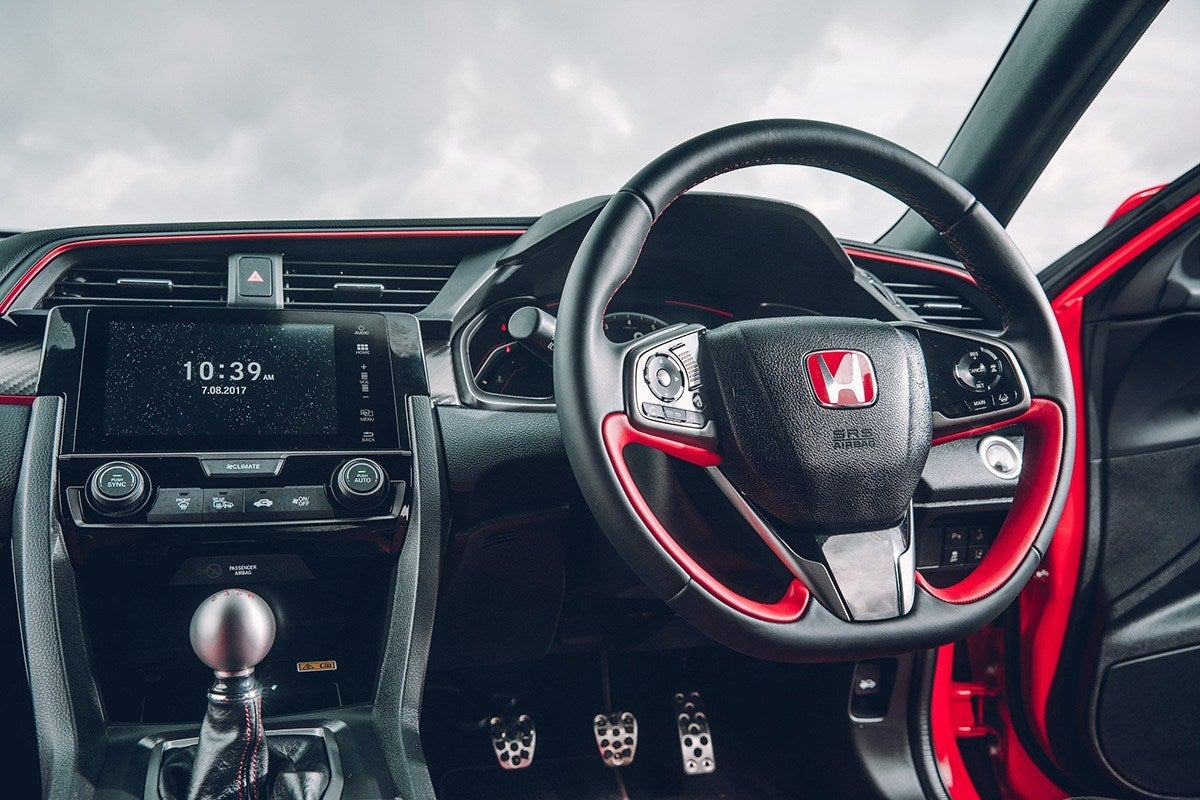 Honda Civic Type R 2017 front interior