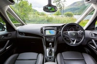 Vauxhall Zafira Tourer Front Interior