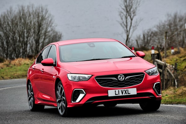 Vauxhall Insignia Grand Sport Front View