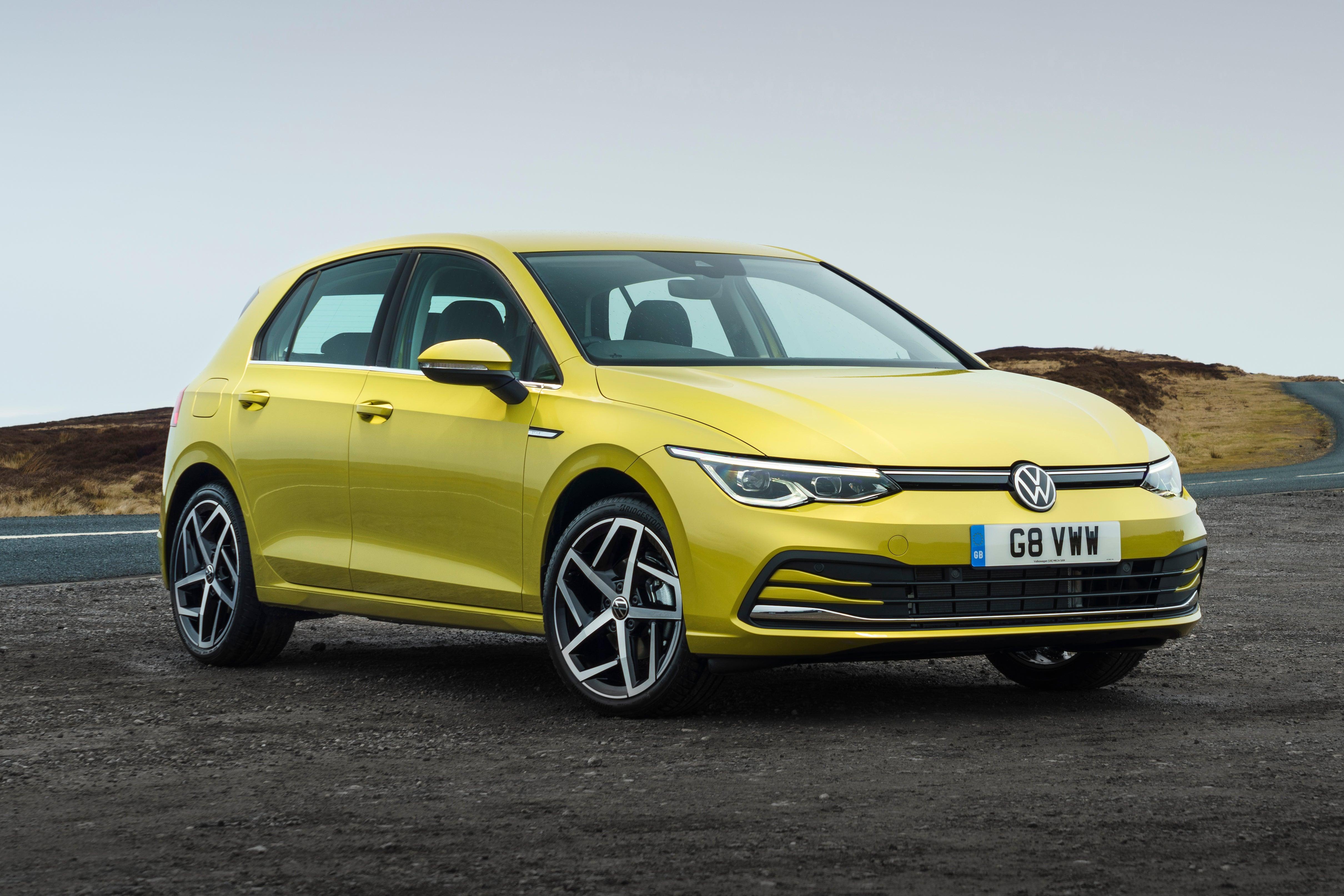Volkswagen Golf Front Side View