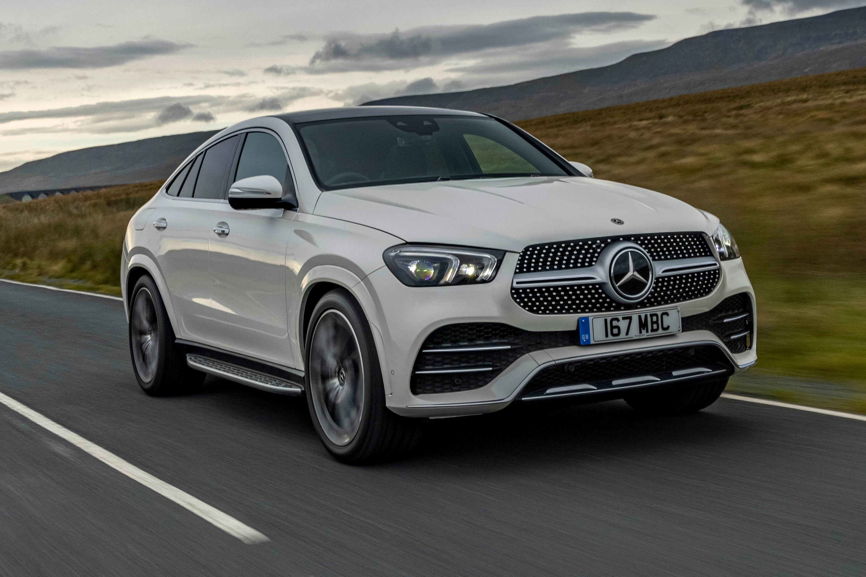 Mercedes GLE Coupe front