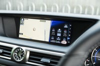 Lexus GS central console