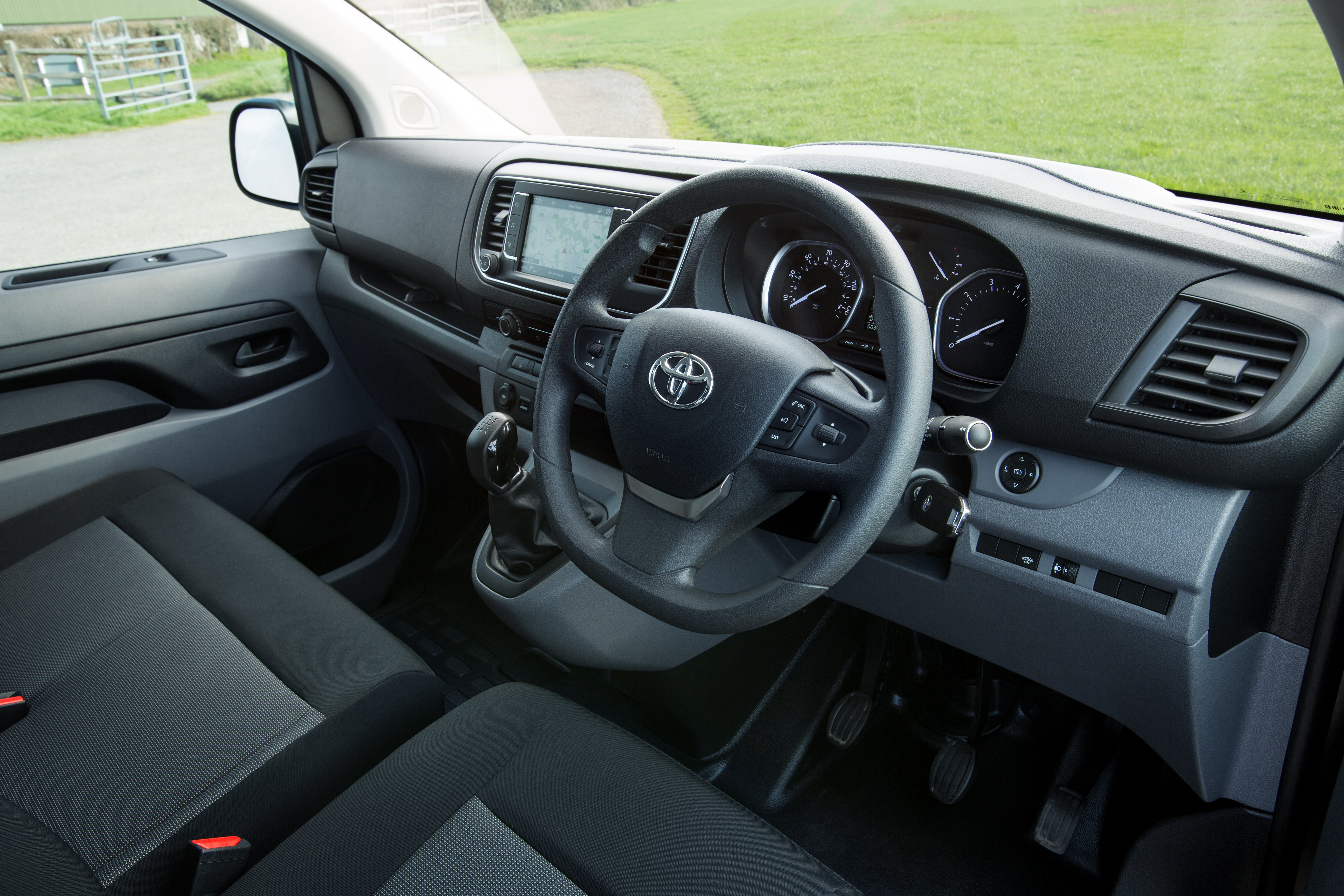 Toyota Proace Front Interior