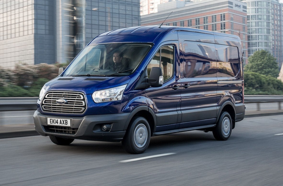 Ford Transit Driving Front