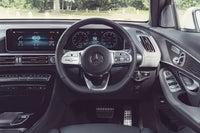 Mercedes EQC steering wheel