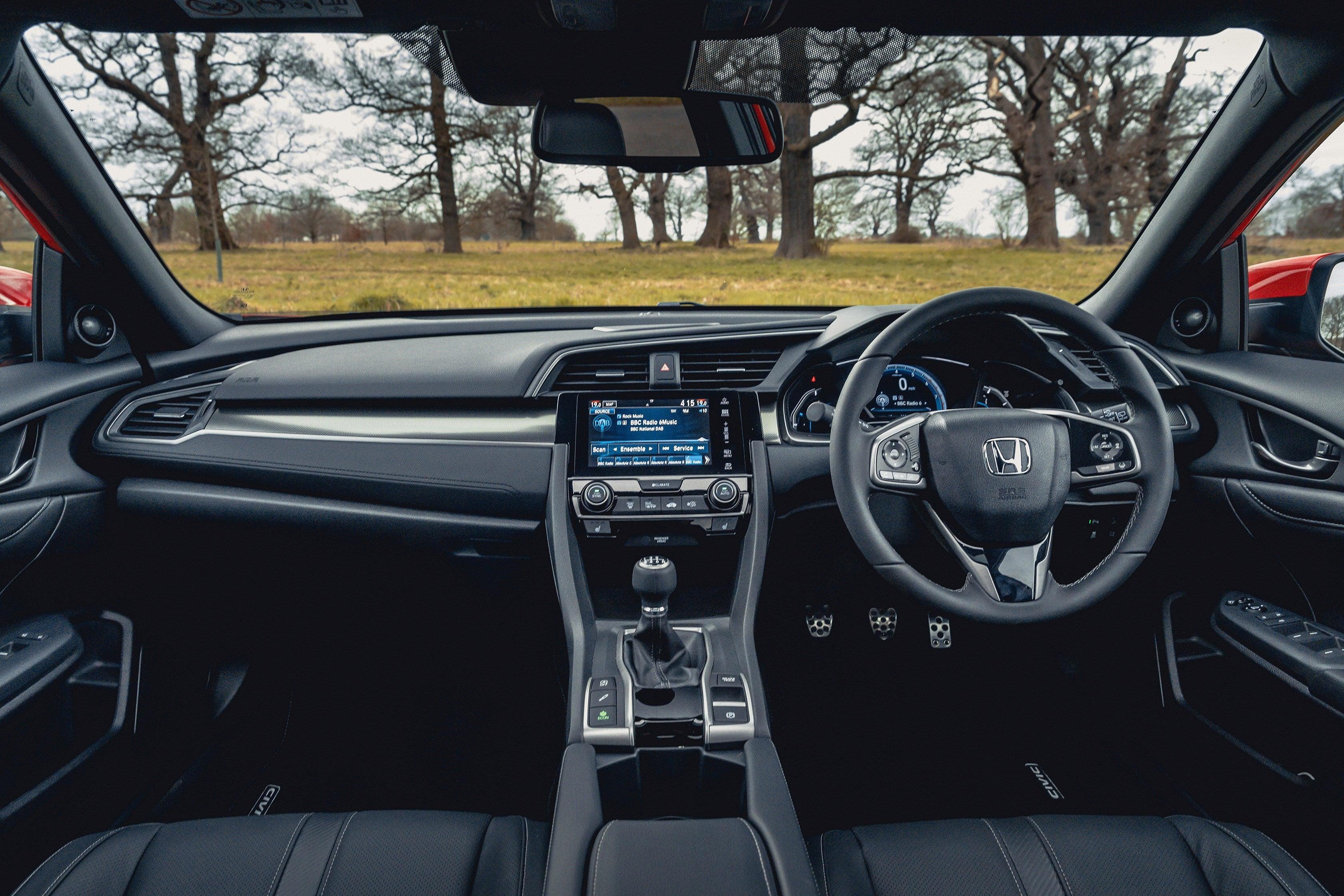 Honda Civic front interior