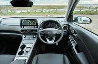 Hyundai Kona Electric front interior