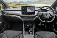 Skoda Enyaq iV Review 2021: interior including large touchscreen display