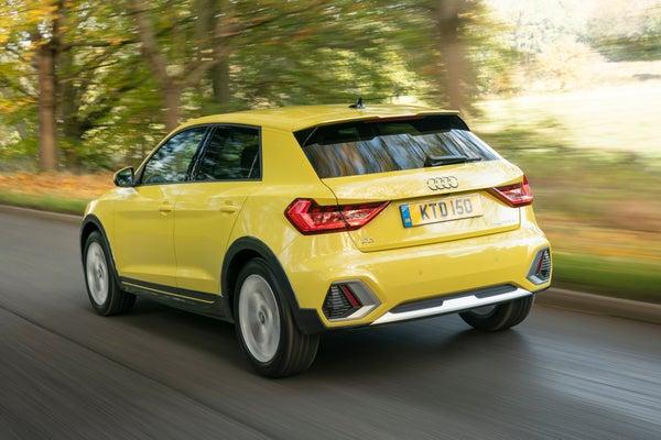 Audi A1 Citycarver Driving Back