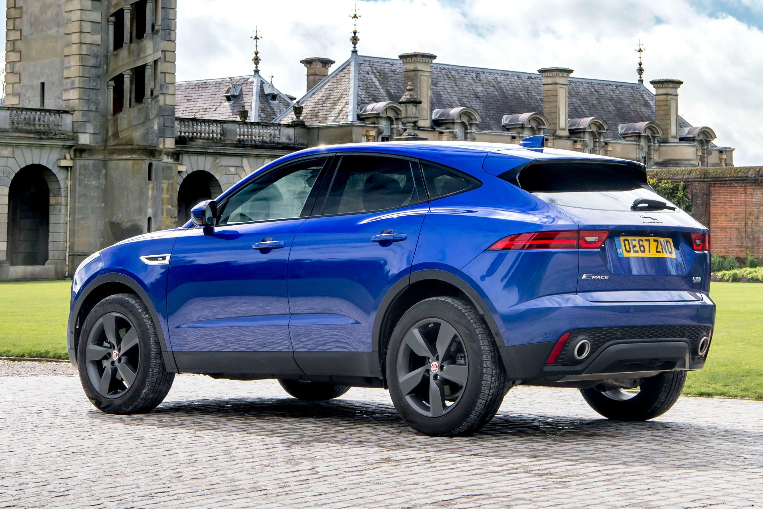 Jaguar E-Pace backleft exterior