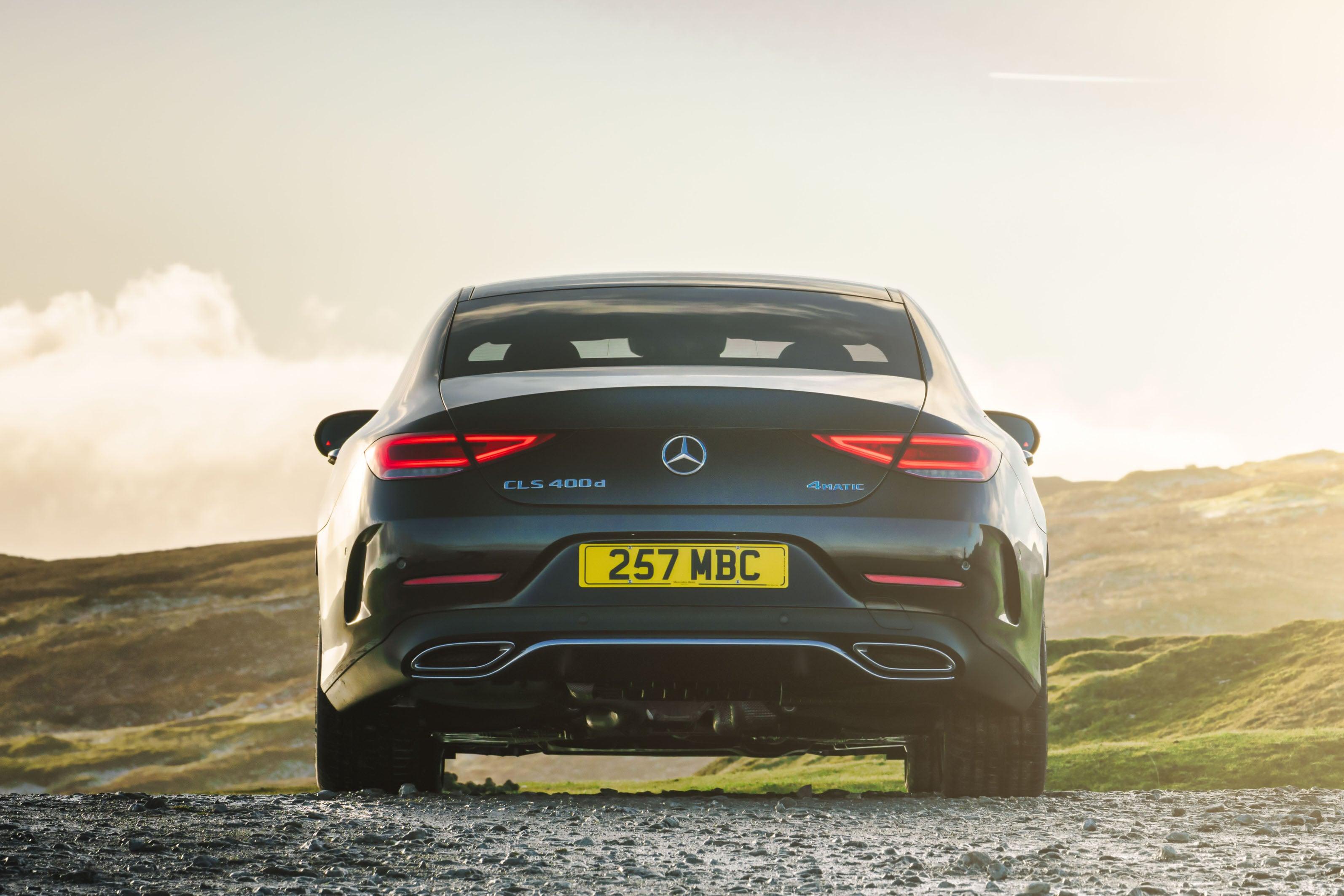 Mercedes CLS (2018) rear