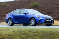 Lexus IS right exterior
