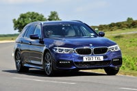 BMW 5 Series Touring Driving Front