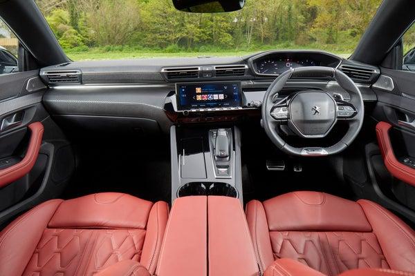 Peugeot 508 SW Front Interior