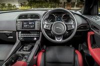 Jaguar F-Pace front interior
