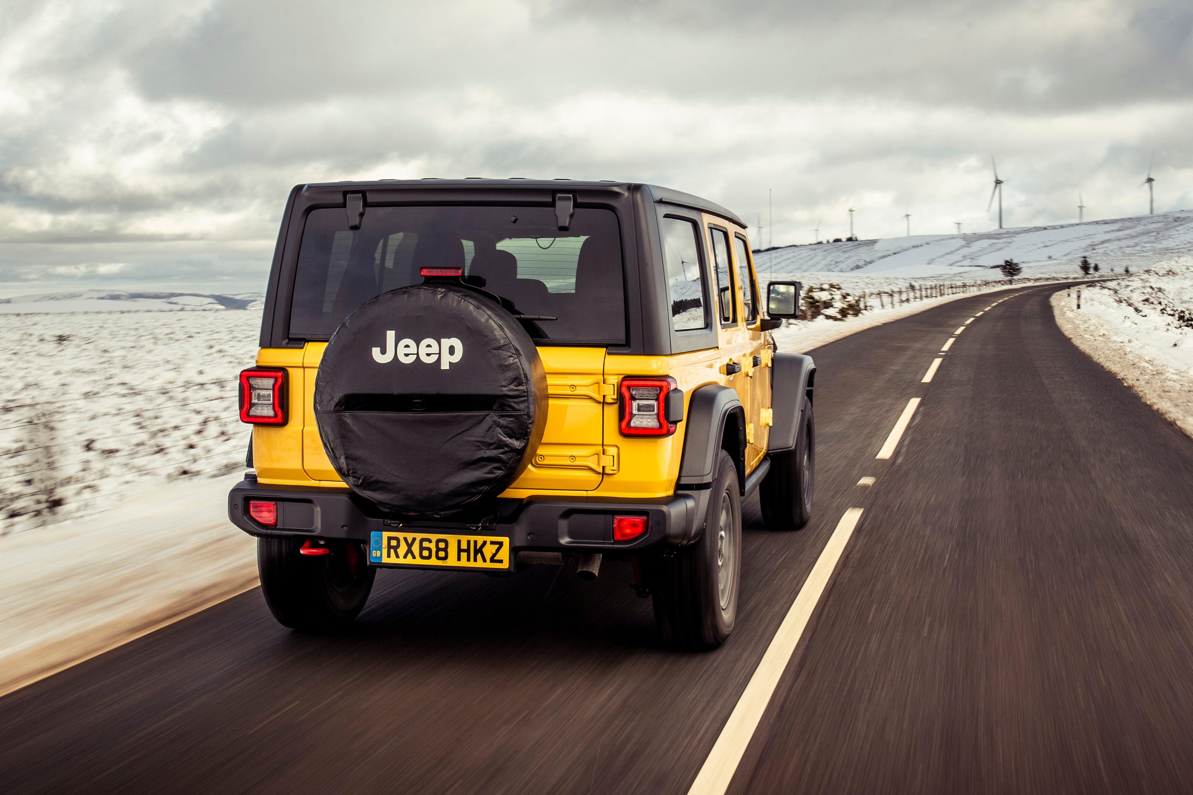 Jeep Wrangler  rear exterior