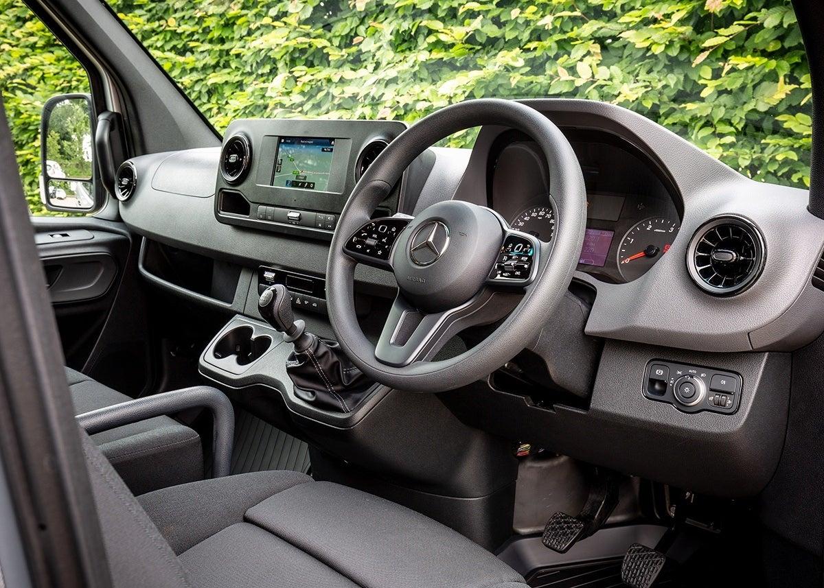 Mercedes-Benz Sprinter 2019 front interior