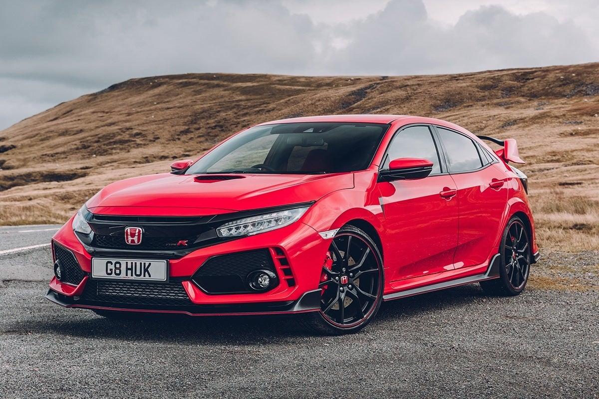 Honda Civic Type R 2017 frontleft exterior