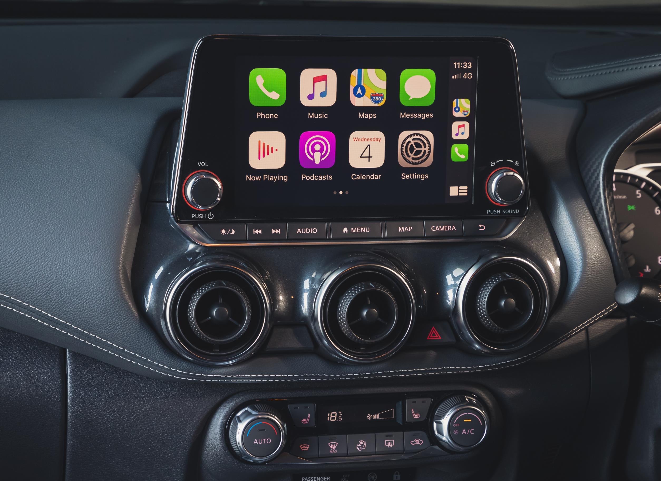 Nissan Juke 2020 central console