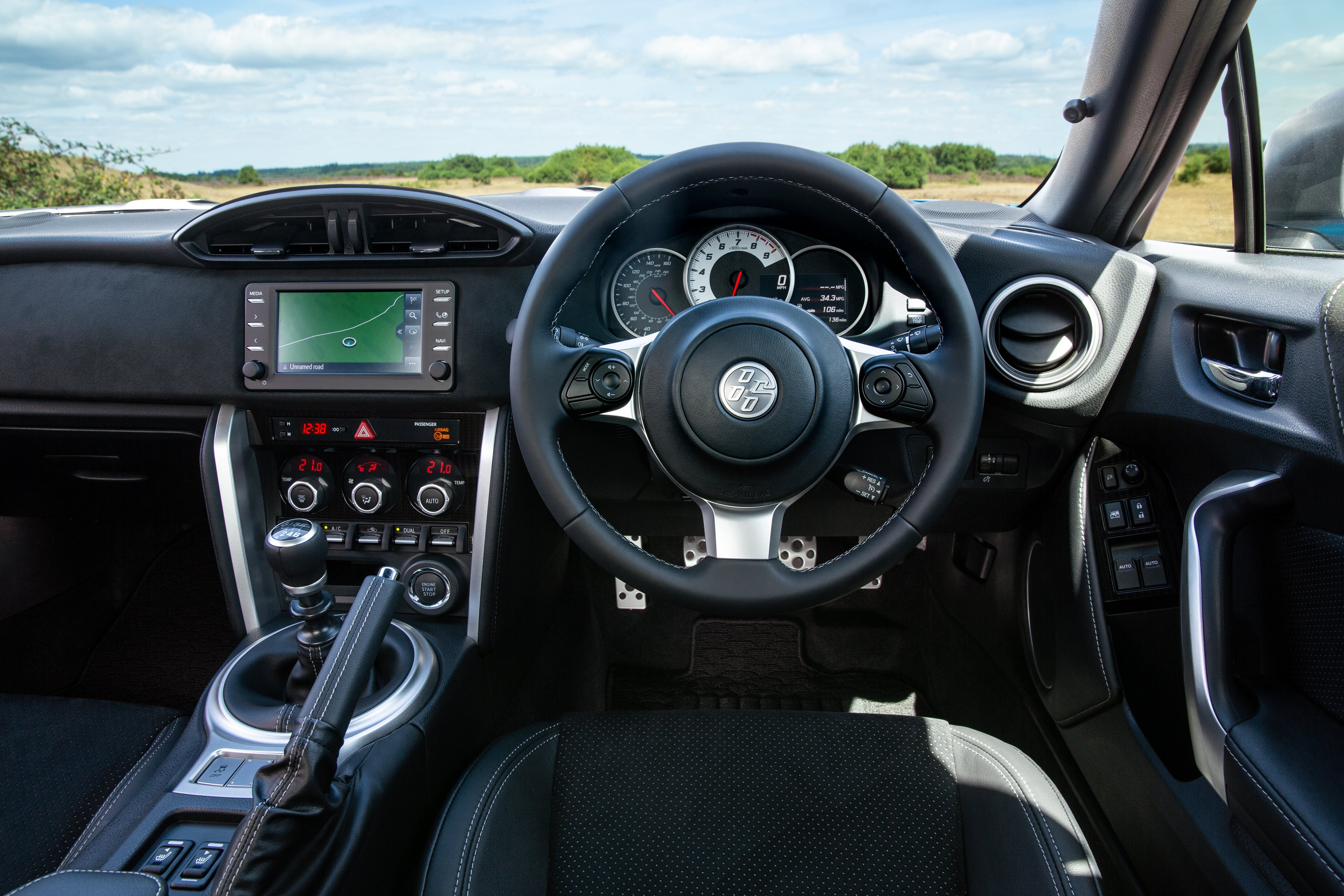 Toyota GT86 Driver's Seat
