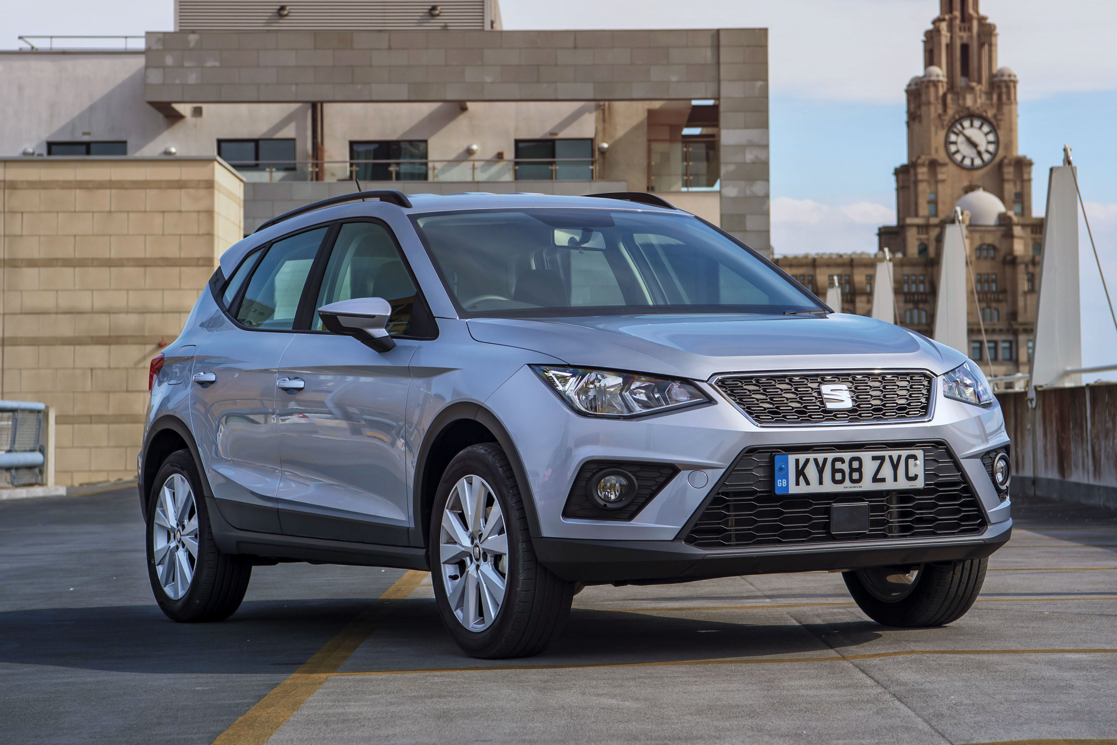 SEAT Arona Front View