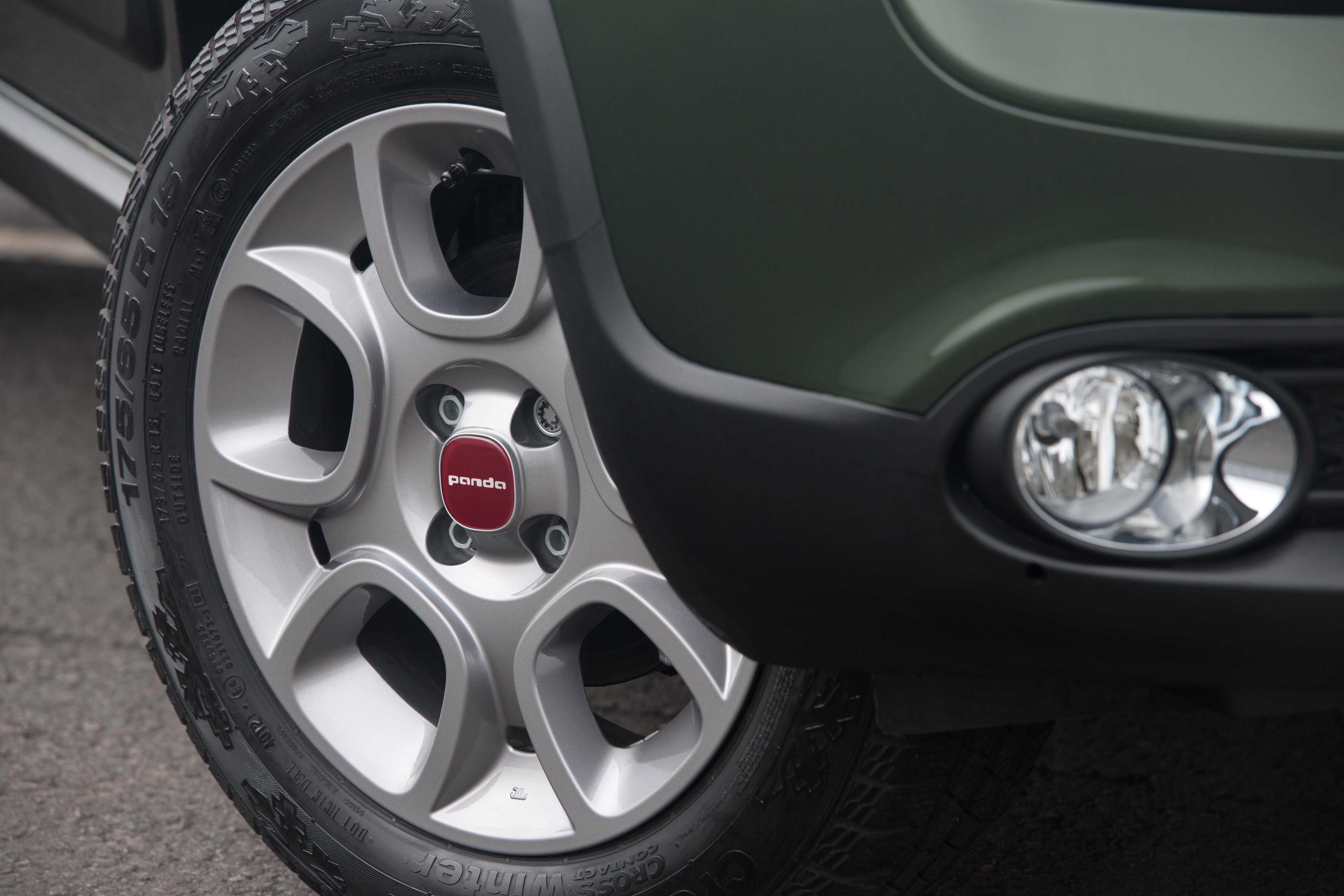 Fiat Panda 4x4 Wheel