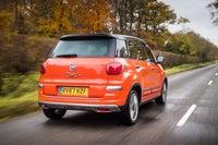 Fiat 500L Back Seat