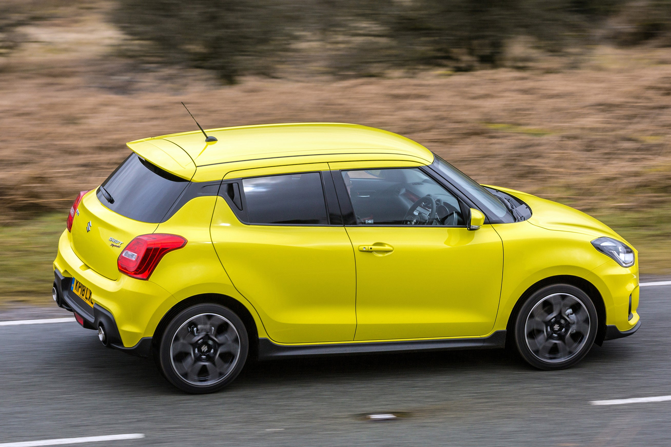 Suzuki Swift Sport Right Side View