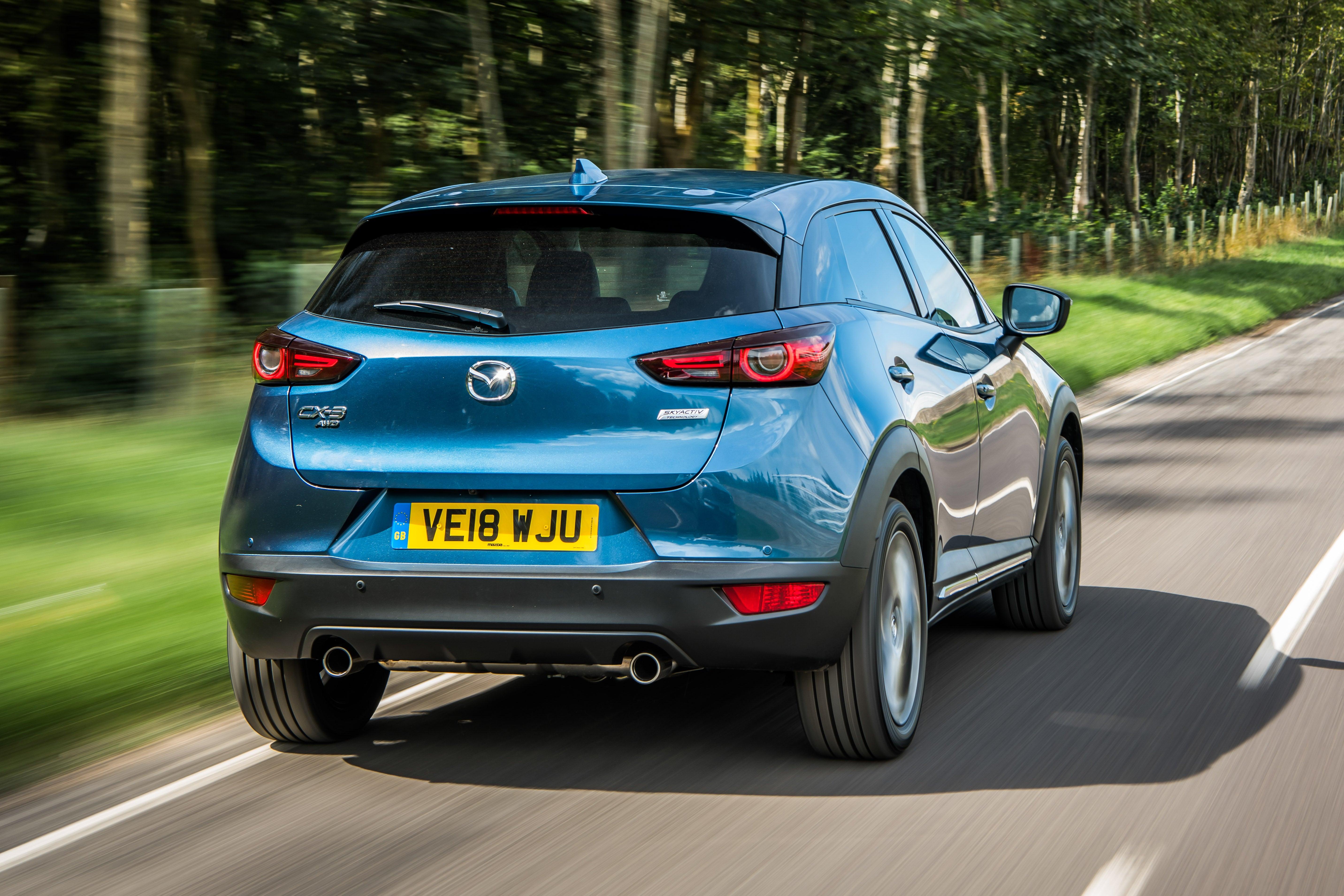 Mazda CX-3 on road