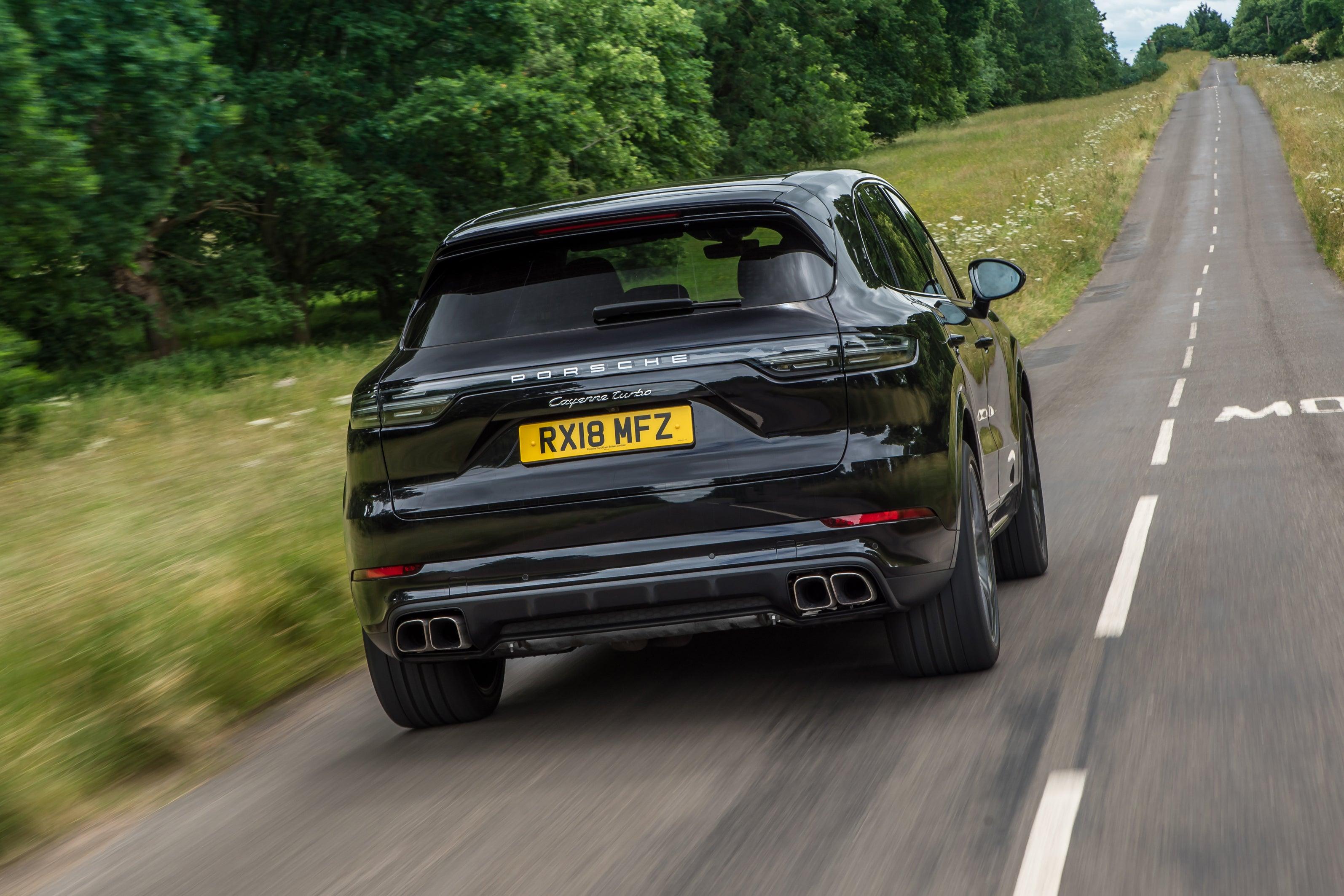 Porsche Cayenne Rear View
