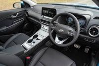 Hyundai Kona Electric Review 2021 interior dashboard
