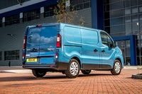 Renault Trafic Back Side View