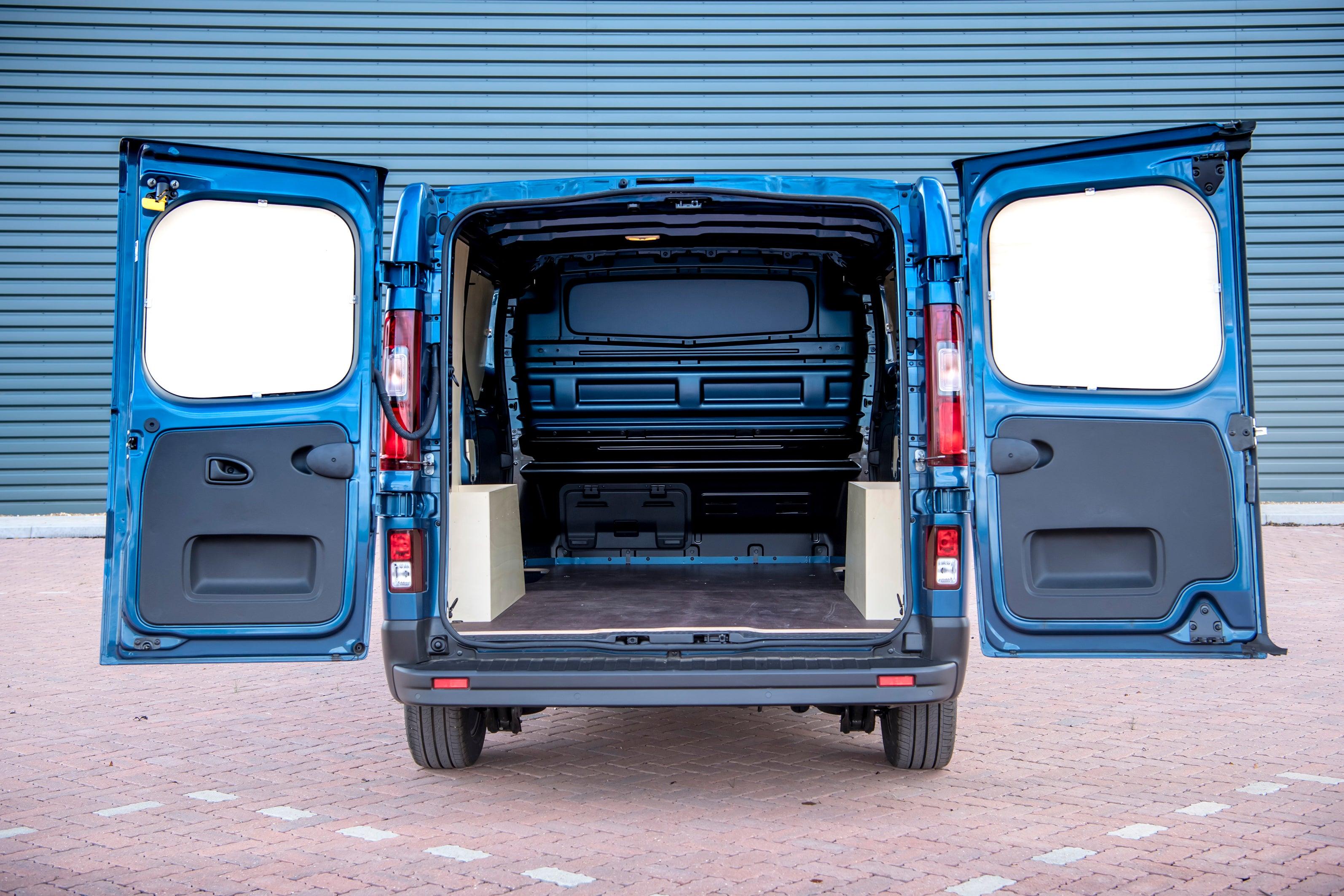 Renault Trafic Inside Van
